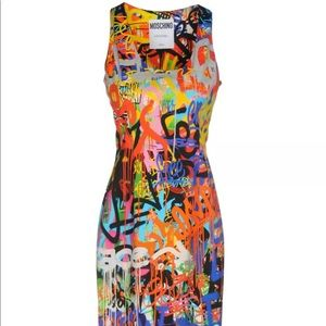 NWT $1,750 MOSCHINO COUTURE Dress
